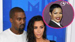 Zusammenarbeit von Kanye & Teyana: Eifersuchtsalarm bei Kim