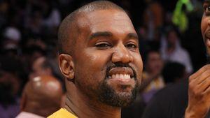 Kanye West beim Basketball