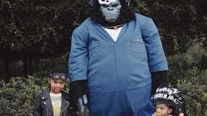 Nach Wurm-Look: Kim K. teilt zuckersüßes Halloween-Bild