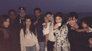 Kylie Jenner, Kim Kardashian, Kanye West, North West, Kendall Jenner, Robert Kardashian, Kourtney Ka