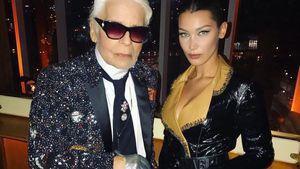 Zum Geburtstag: Bella Hadid erinnert an Karl Lagerfeld (†85)
