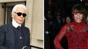 Karl Lagerfeld: Für Lea Michele gibt's kein Chanel