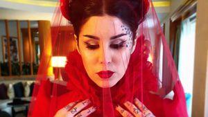 Ein Traum in Blutrot: So war Kat Von Ds Gothic-Hochzeit!