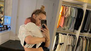 Schmerzen nach Geburts-OP: Kate Ferdinand hat Schuldgefühle