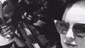 1. Insta-Pic: Kate Hudson zeigt ihren kahl rasierten Kopf!