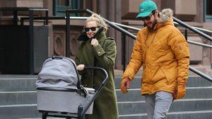 Mit Baby on Board: Kate Hudson & Danny beim entspannten Walk