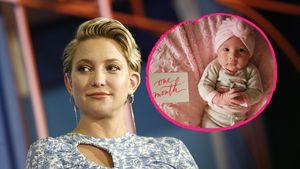 Zu Ranis Einmonatigem: Kate Hudson postet süßes Baby-Bild!