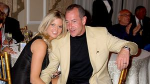 Michael Lohan und Kate Major
