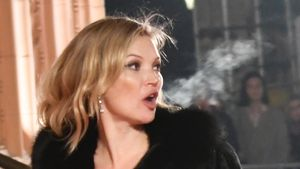 "Kate Moss bei den britischen ""Fashion Awards"" 2016 in London"