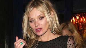 Übel! Betrunkene Kate Moss schockt mit zerrissenem Kleid!