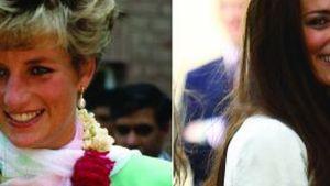 Der Vergleich von Kate Middleton und Lady Diana