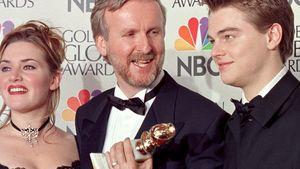 Leonardo DiCaprio, Kate Winslet, Titanic und James Cameron