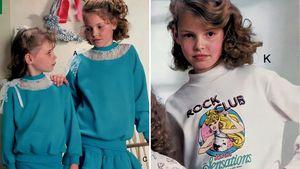 Wie süß! Katherine Heigl posierte als Mädchen für Kataloge