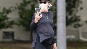 XXL-Bauch: Katherine Schwarzenegger kurz vor der Geburt?