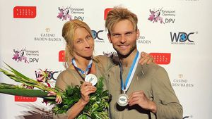 """Let's Dance""-Kathrin & Vadim: Platz zwei bei Showdance-WM!"