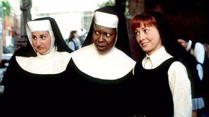 "Kathy Najimy, Whoopi Goldberg und Wendy Makkena in ""Sister Act"""