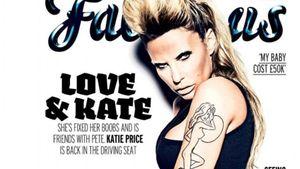 Katie Price auf dem Fabulous-Cover