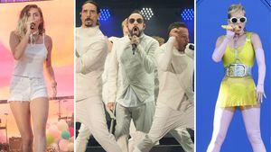 Katy Perry, Miley Curys und die Backstreet Boys beim Wango Tango 2017