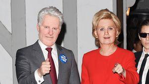 Abgefahrenes Kostüm: Katy Perry wird zu Hillary Clinton!
