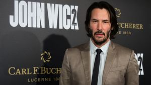 "Keanu Reeves bei der Premiere von ""John Wick 2"" in Hollywood"