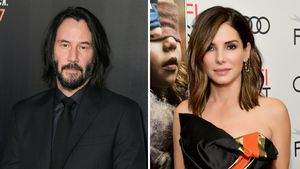 Heißer Flirt? Keanu Reeves stand auch auf Sandra Bullock!