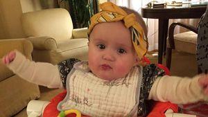 Lässig! Kelly Clarksons Töchterchen trägt Bandana
