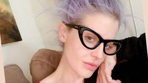 Nach Abnahme: Kelly Osbourne mag sich erstmals ungeschminkt