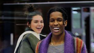 Kendall Jenner und ASAP Rocky beim gemeinsamen Shoppen in New York