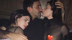Kendall Jenner, Riccardo Tisci und Bella Hadid
