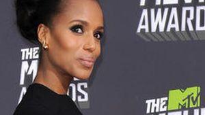 Glamouröse Frisur: Kerry Washington macht's vor