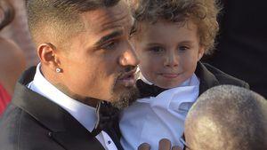 Kevin-Prince Boateng mit Sohn Maddox auf seiner Hochzeit