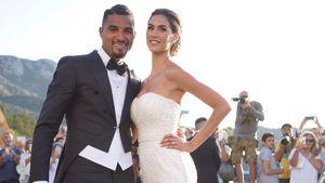 Kevin-Prince Boateng und Melissa Satta bei ihrer Hochzeit auf Sardinien 2016