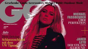 Khloe Kardashian auf dem GQ-Cover von Januar 2017