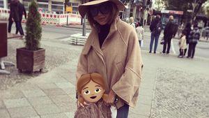 Kim Gloss' größter Stolz: Amelia ist schon eine kleine Lady!