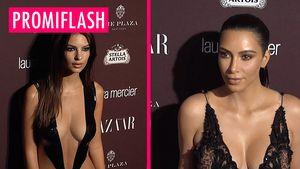 Kim Kardashian Busen-Battle