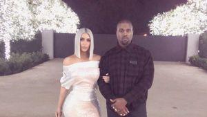 Anti-Krise: Kim & Kanye busseln gut gelaunt ins neue Jahr!
