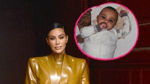 Schon so groß: Kim Kardashian teilt neues Foto von Psalm!