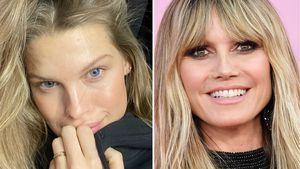 Tritt dieses deutsche Model etwa in Heidi Klums Fußstapfen?