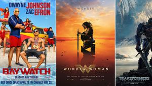 "Kinoplakate zu ""Baywatch"", ""Wonder Woman"" und ""Transformers: The Last Knight"""