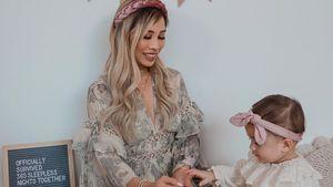 Kisu emotional: Töchterchen Milena feiert ersten Geburtstag