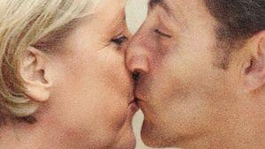 Merkel und Sarkozy knutschen für den Frieden!