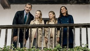 Nach Flucht von Juan Carlos: Spanische Royals machen Urlaub