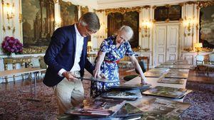 Skurril: Königin Margrethe von Dänemark designt Netflix-Film