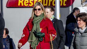Style-Fehltritt? Königin Máxima im roten Blumen-Mantel