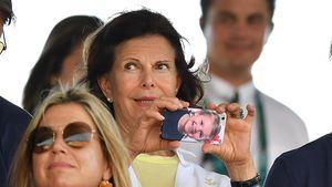 Süß: Königin Silvia entzückt mit Estelle-Handycover in Rio!