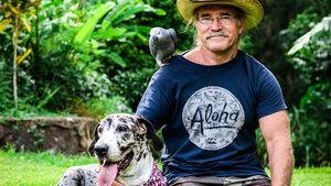 Konny Reimann musste seine Dogge einschläfern lassen