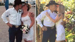 17 Jahre: Konny und Manu Reimann stellen Hochzeitsfoto nach