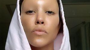 Alienartig: Kourtney Kardashian zeigt sich ohne Augenbrauen!