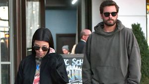 Kourtney Kardashian und Scott Disick in Woodland Hills