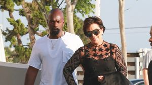 "Kris Jenner und Corey Gamble beim Kanye West-Event ""Famous"""